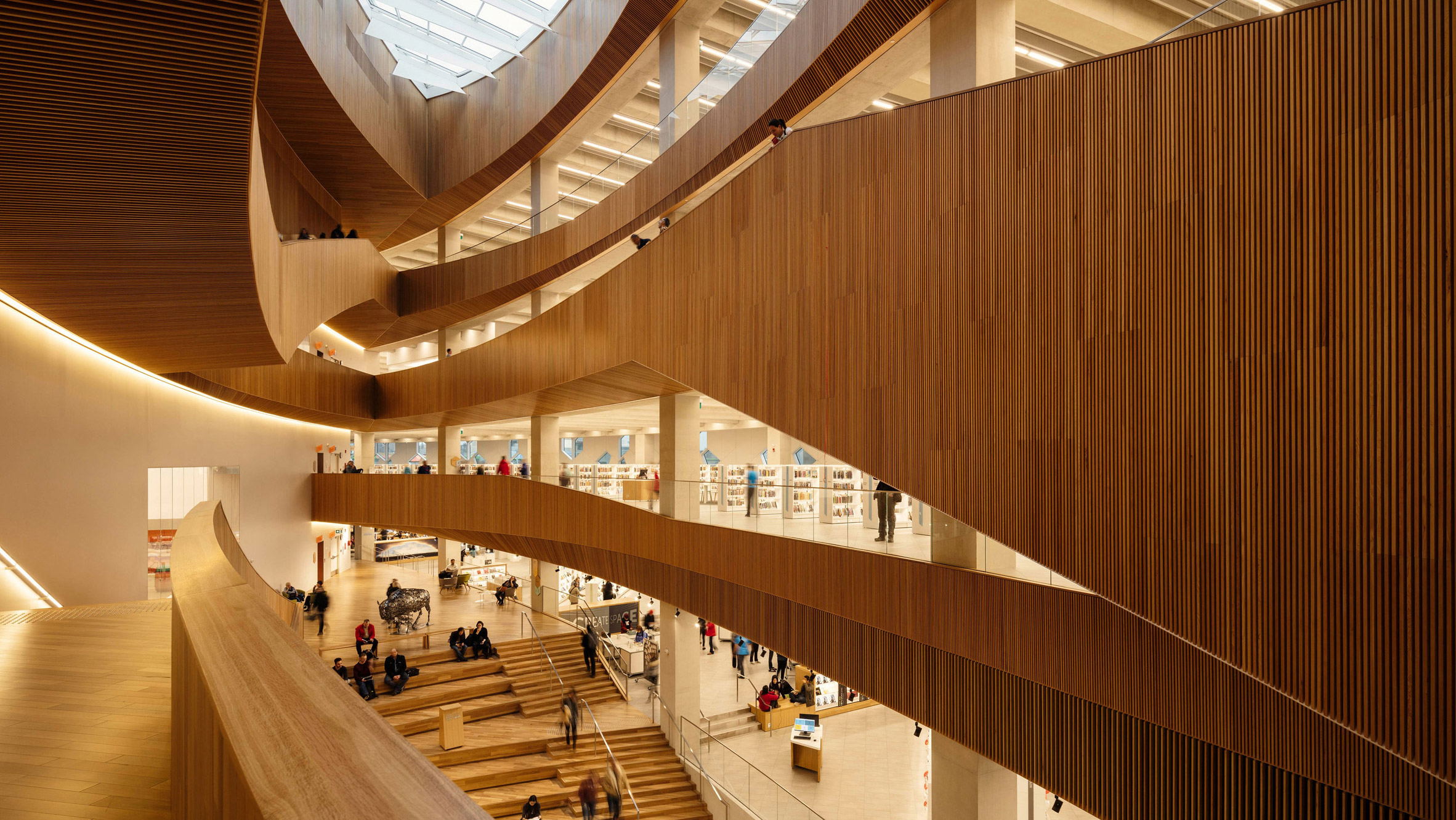 New Central Library, Canada, by Snøhetta and Dialog