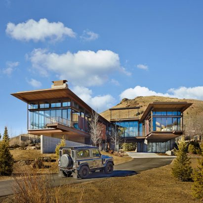 Bigwood Residence, Idaho, by Olson Kundig