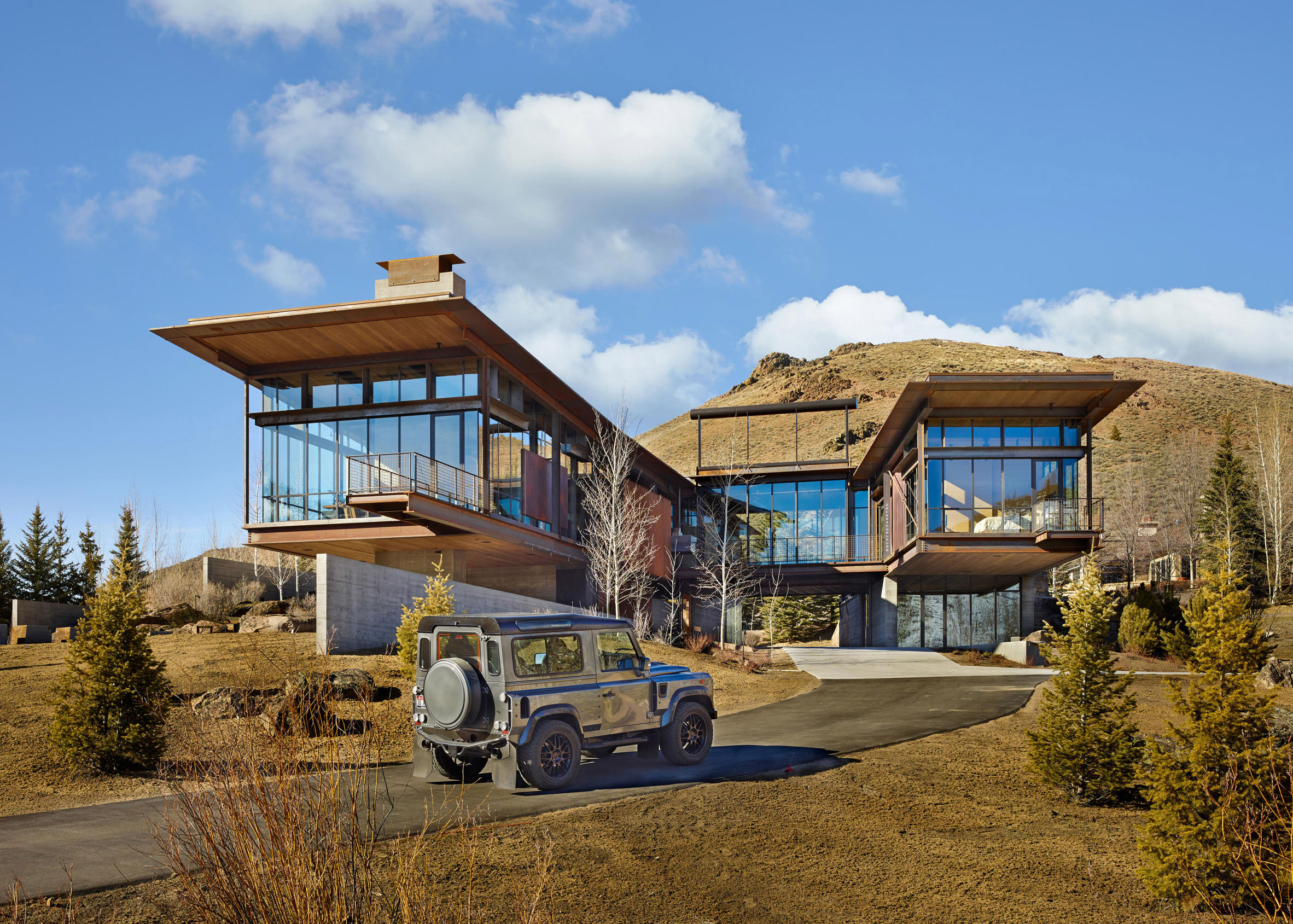 Bigwood Residence, Idaho, by Olson Kundig