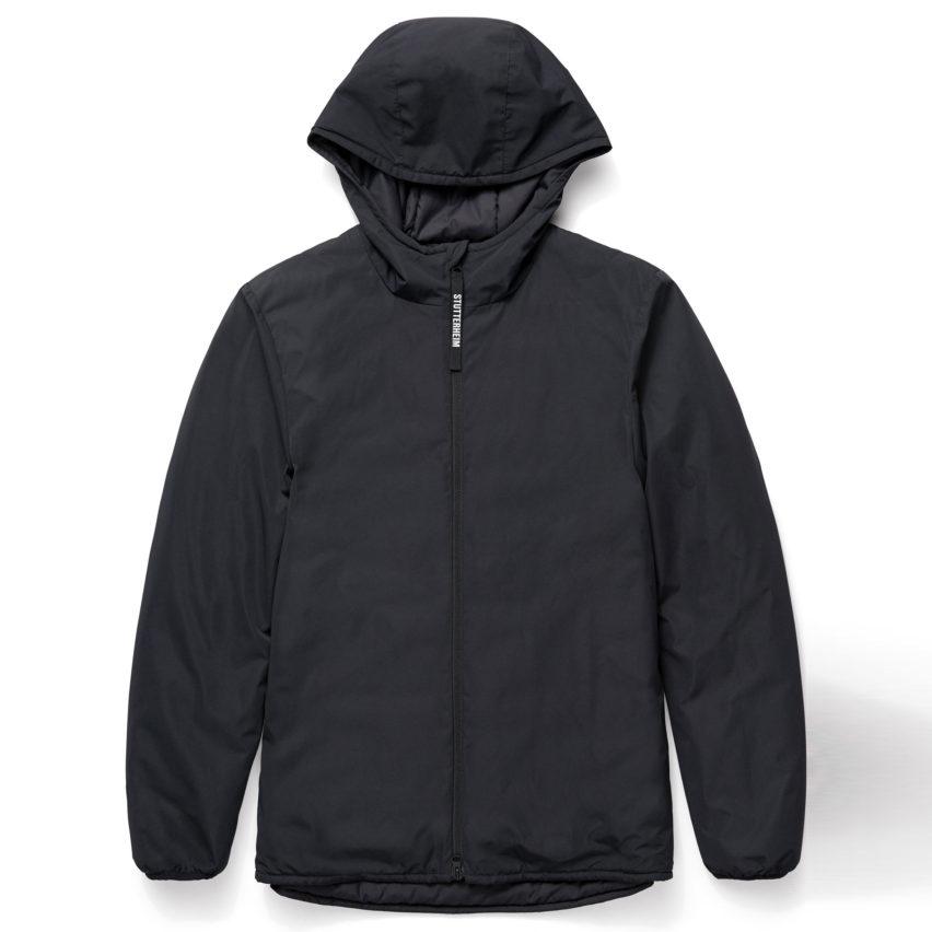 Black Grevie Liner Jacket by Stutterheim
