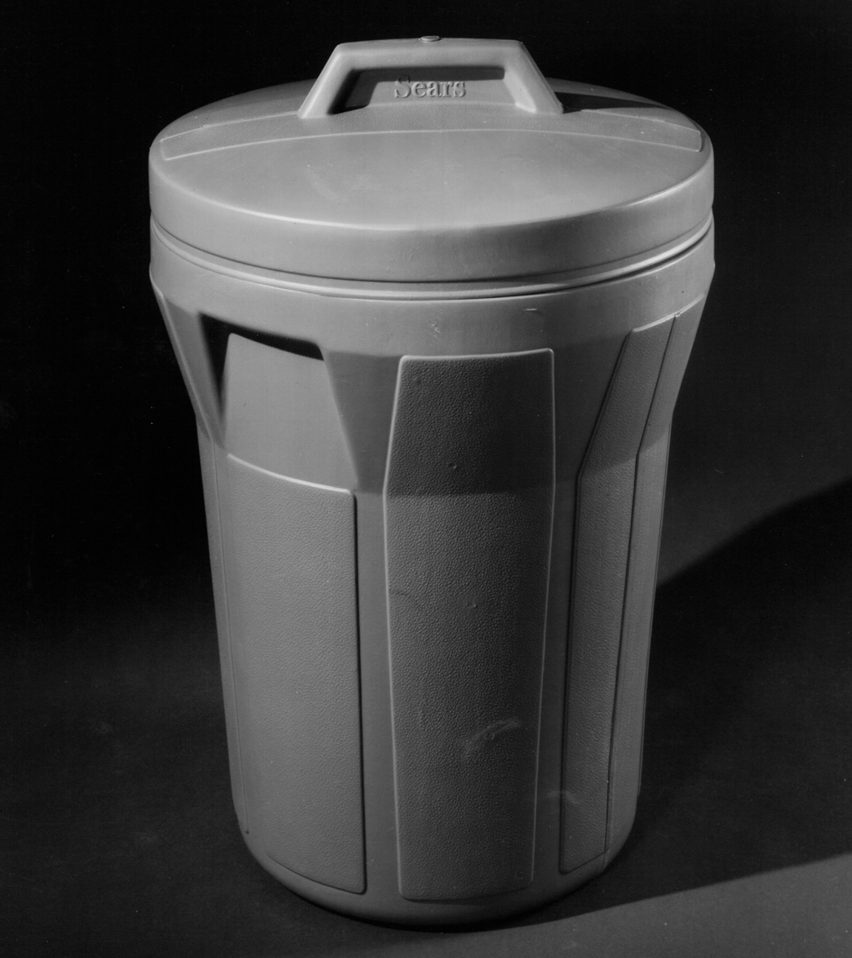Garbage can by Charles Harrison