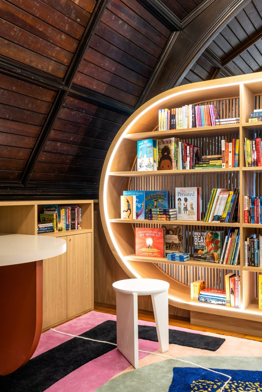 Children's Library by MKCA