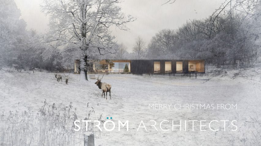Ström Architects' 2018 Christmas card