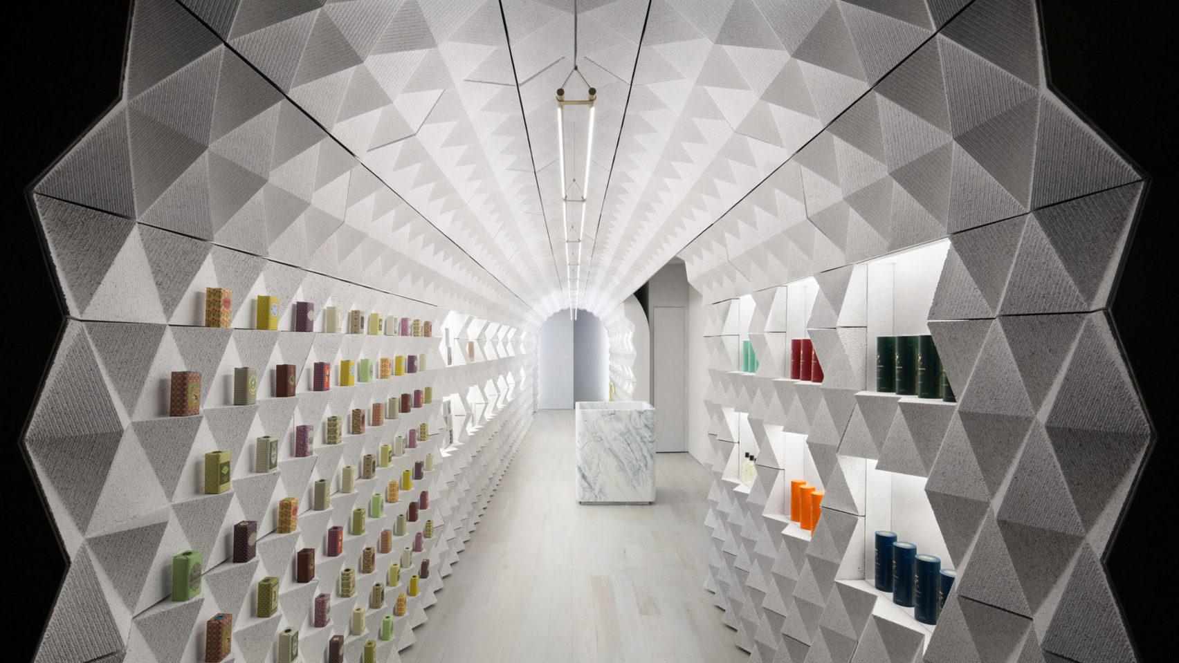 Магазин-бутик Claus Porto в Нью-Йорке