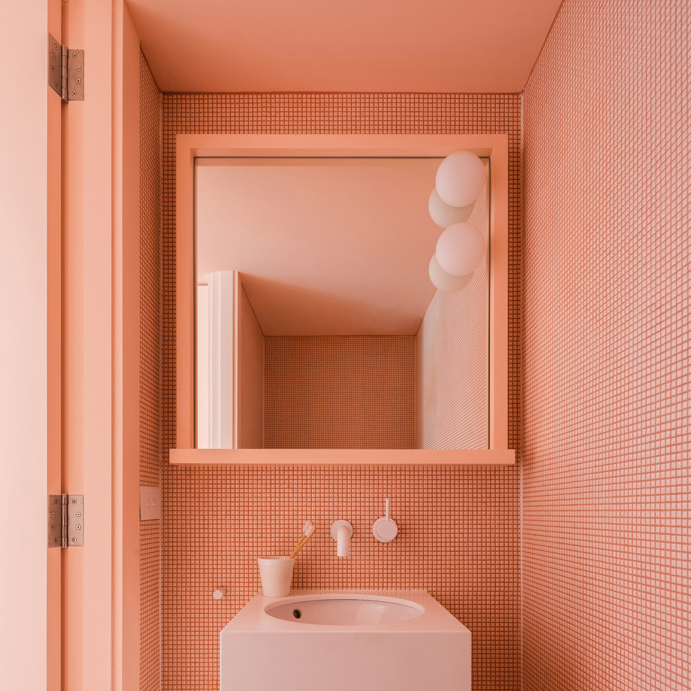 The best coral interiors: Suburban Canny by Tribe Studio