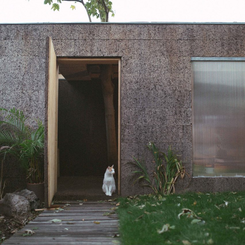 Cork cladding roundup: Cork Studio by Studio Bark