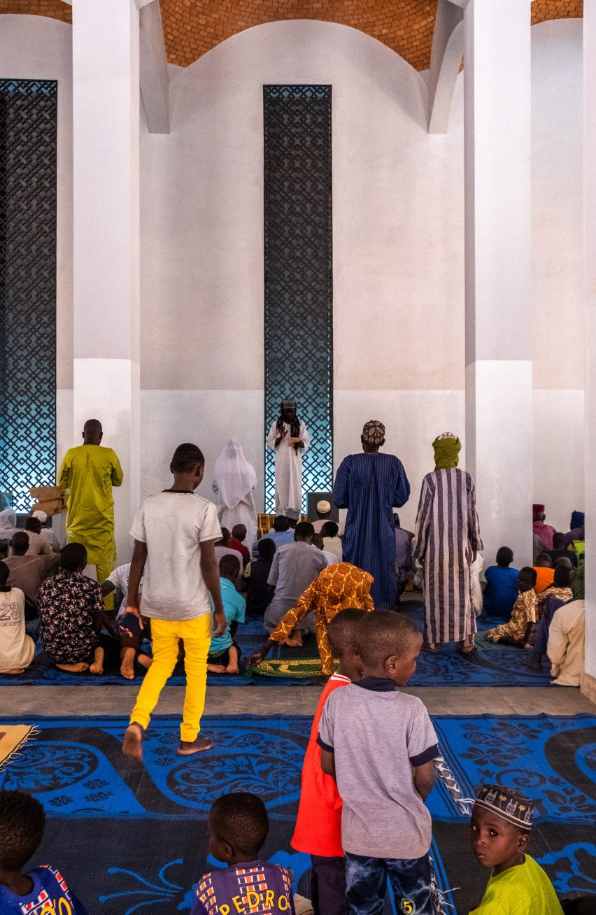 Dandaji Mosque by Atelier Masomi in Western Niger, Africa