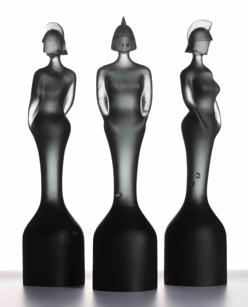 David Adjaye designs solid glass trophy for Brit Awards 2019