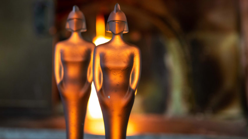 David Adjaye designs solid glass trophy for Brit Awards 2019