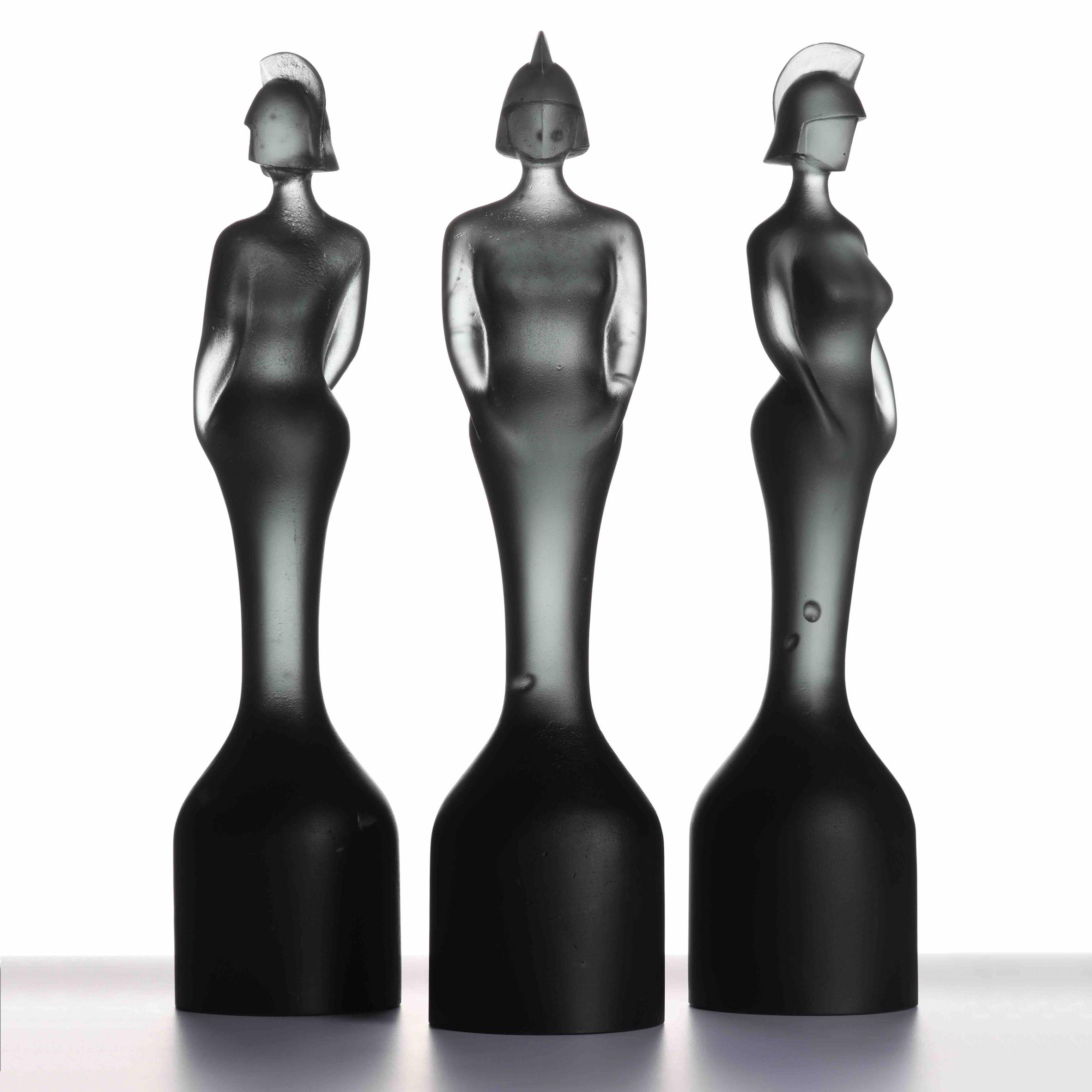 Seven trophy designs: Brit Awards 2019 trophy by David Adjaye