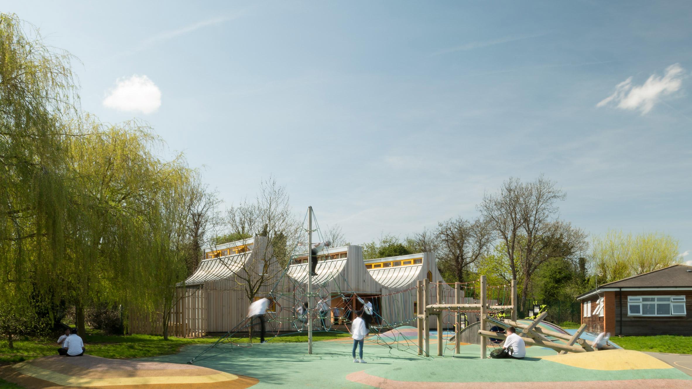 Belvue School, London, Studio Weave Architecture