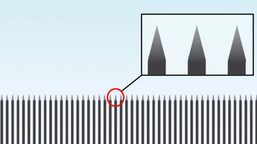 trump s steel slat barrier for mexican border lampooned by designers rh dezeen com