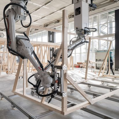 Robotic Construction Dezeen