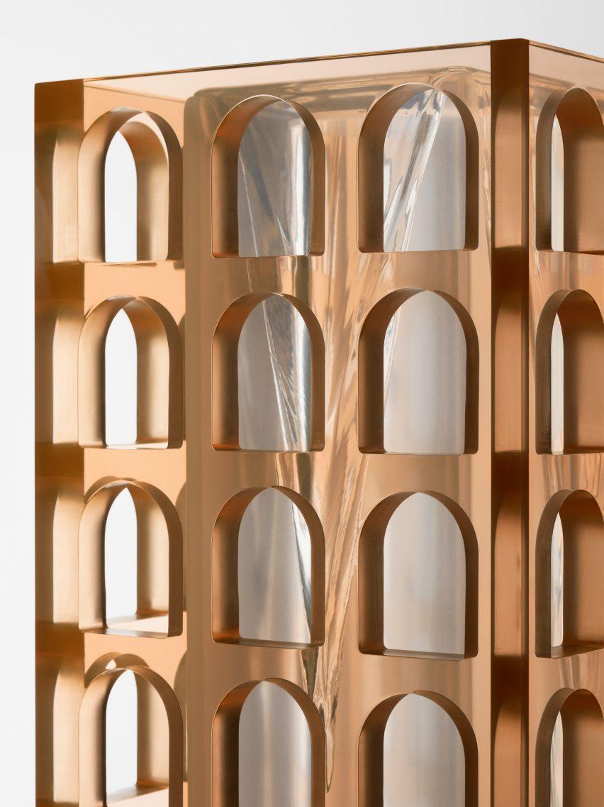 Sabine Marcelis installs 10 Fendi fountains at Design Miami 1c1988943a61
