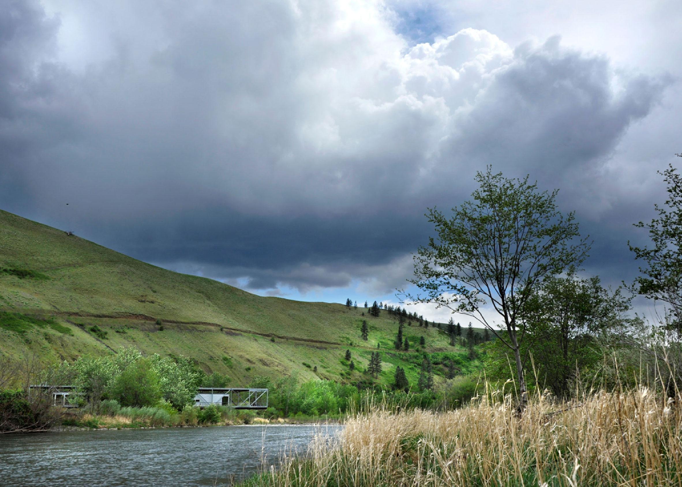 Flood Plain House, Idaho, by Paul Hirzel