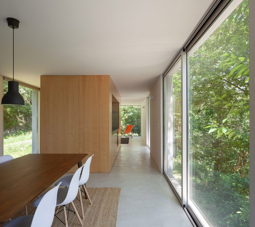 Interiors of Forja House by Pablo Pita Architects