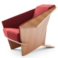Cassina reissues Frank Lloyd Wright's Taliesin 1 chair