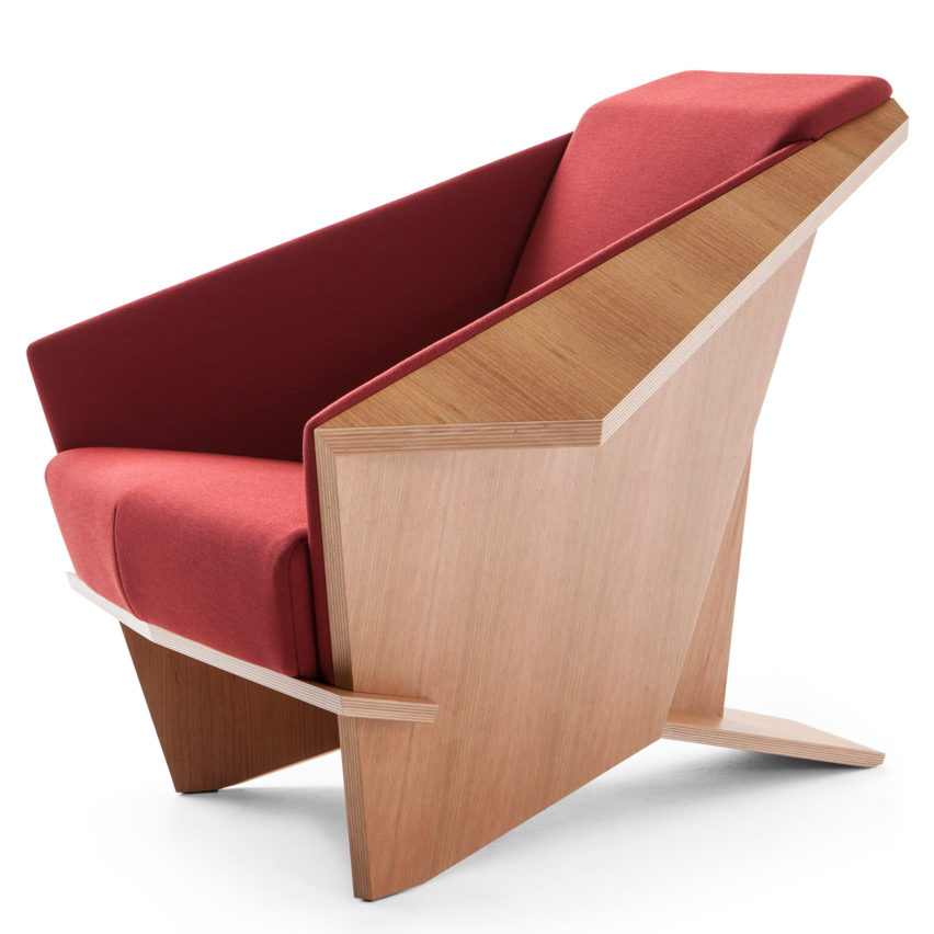 Pleasing Cassina Reissues Frank Lloyd Wrights Taliesin 1 Chair Theyellowbook Wood Chair Design Ideas Theyellowbookinfo