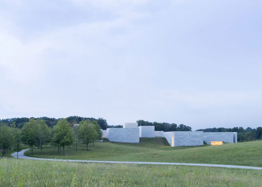 The Pavilions at Glenstone Museum by Thomas Phifer Partners