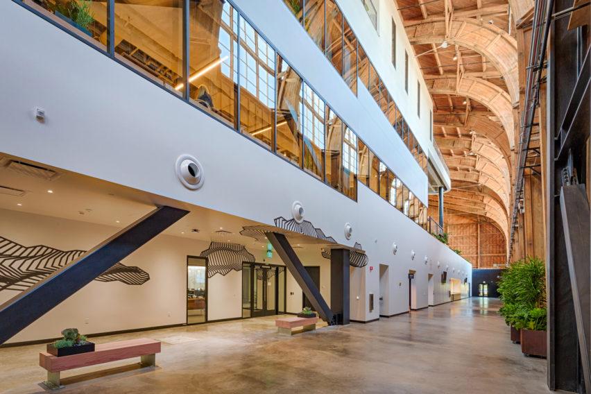 Google Spruce Goose Hangar