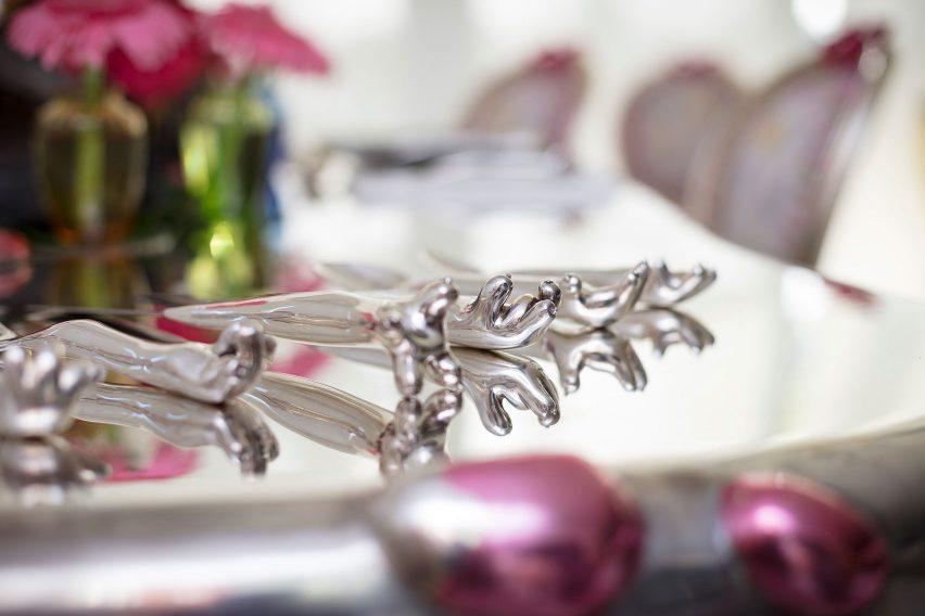 George II cutlery by Haas Brothers for George Lindemann Jr