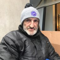 """Most people are one pay cheque away from where I am"" says homeless man who sleeps outside Habitat"