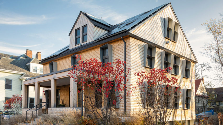 HouseZero energy-efficient building at Harvard University