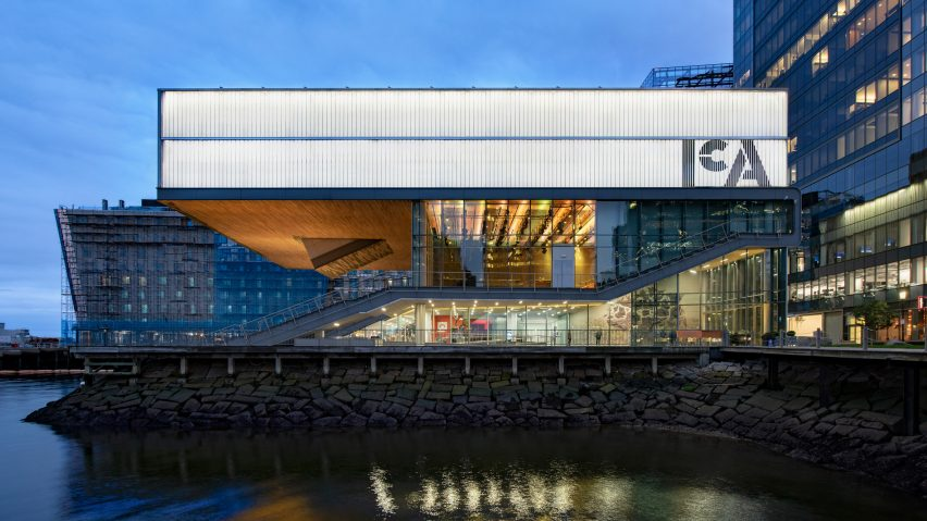 ICA Boston rebrand by Pentagram
