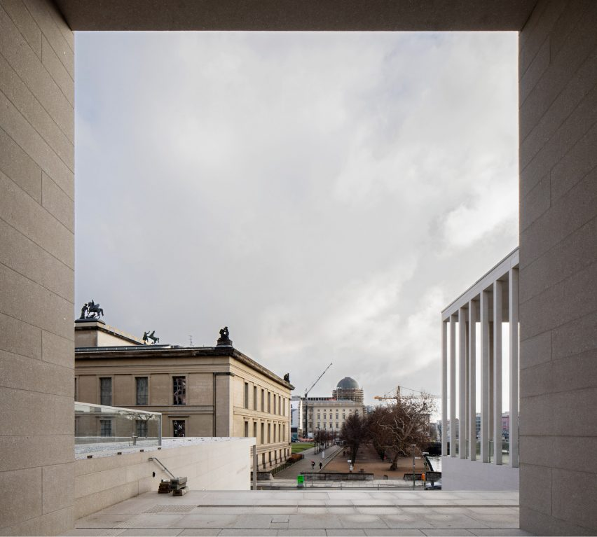 James Simon Galerie in Berlin by David Chipperfield Architects
