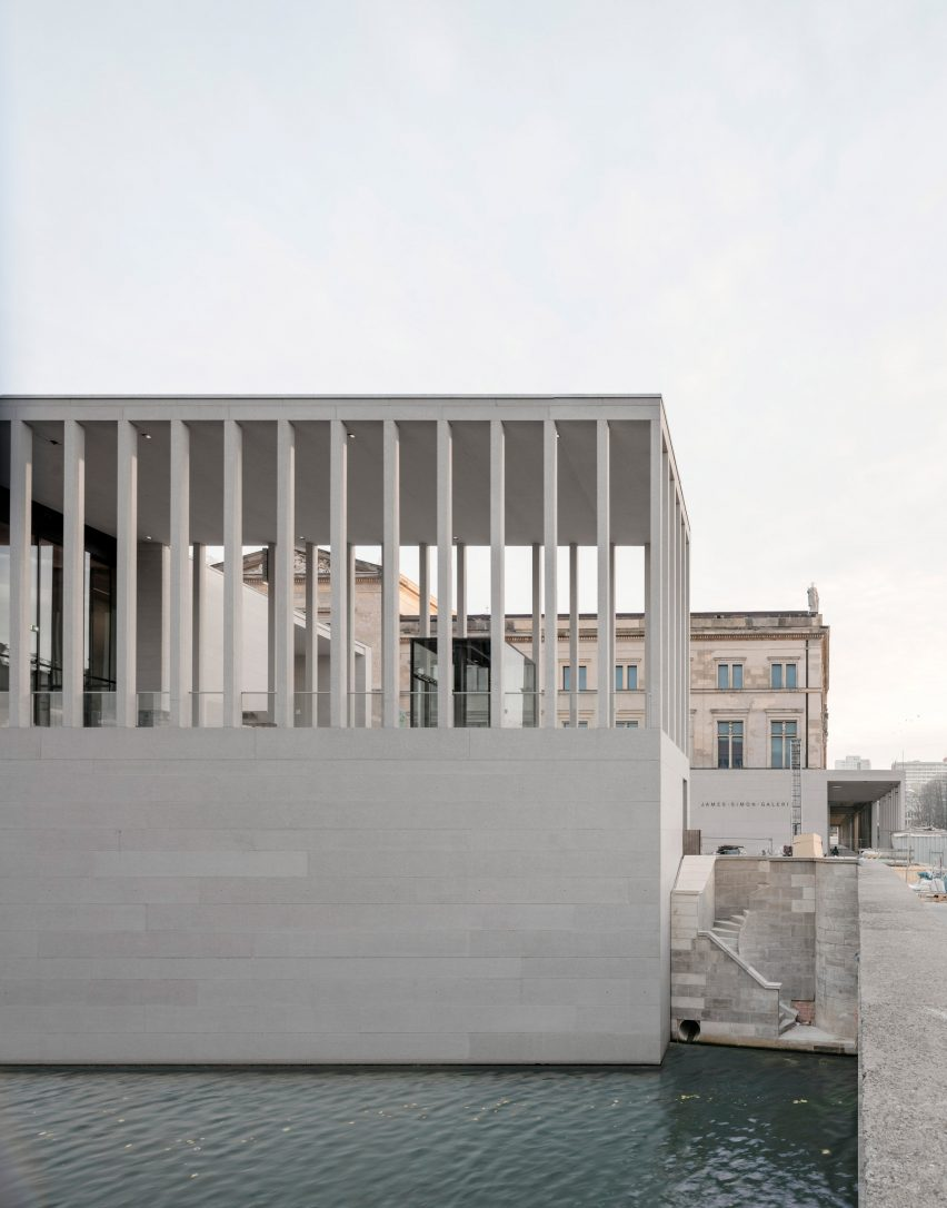 James Simon Galerie by David Chipperfield