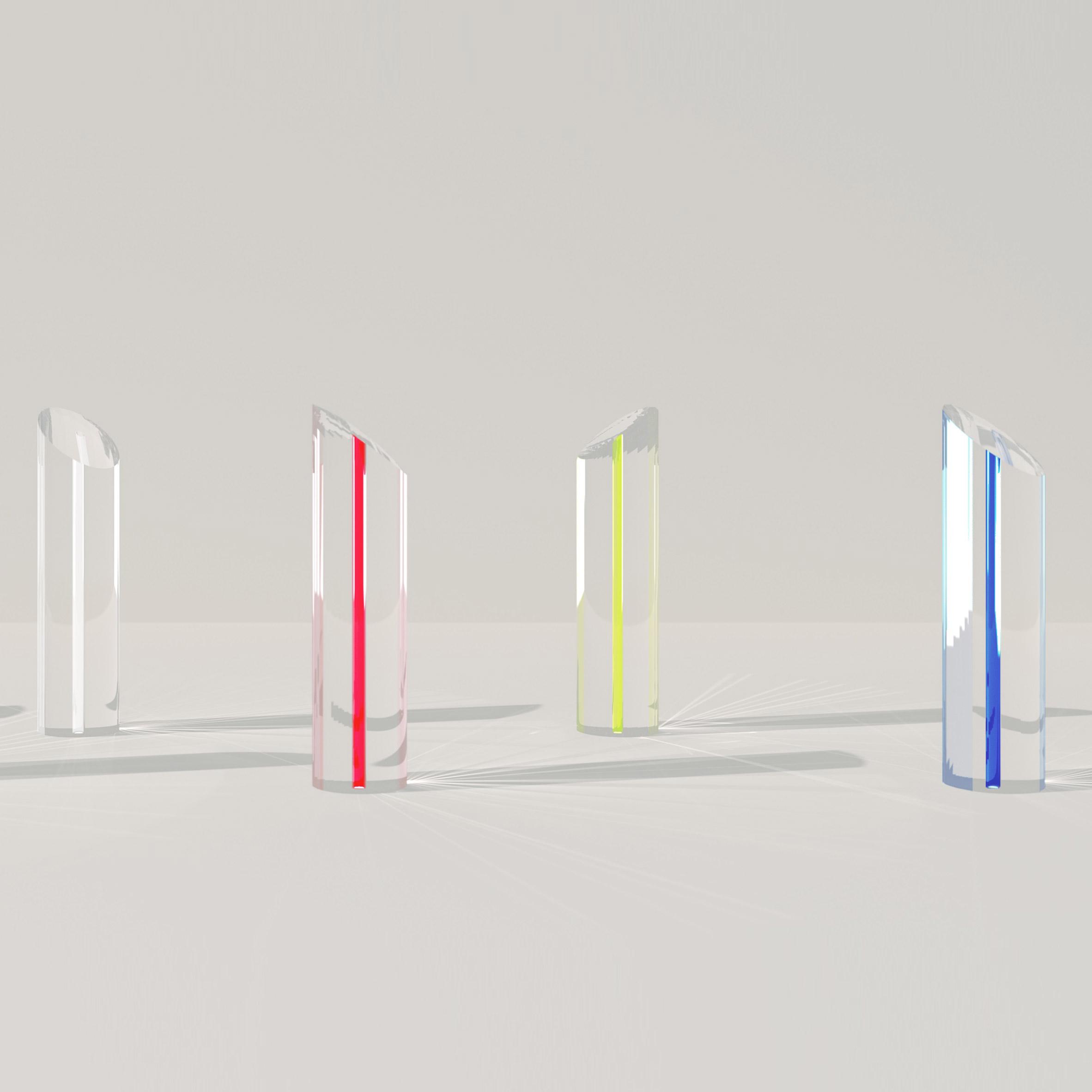 Seven trophy designs: Fashion Awards 2017 trophy byJohn Pawson