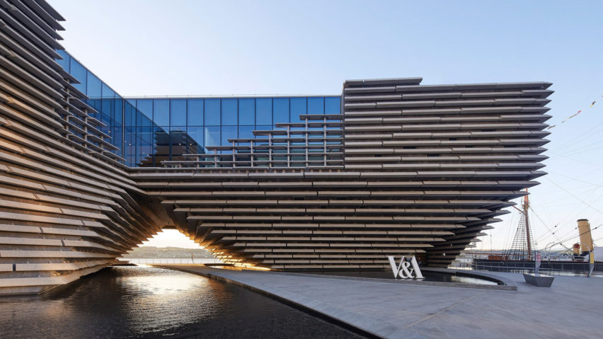 Time magazine's World's Greatest Places of 2019: V&A Dundee by Kengo Kuma