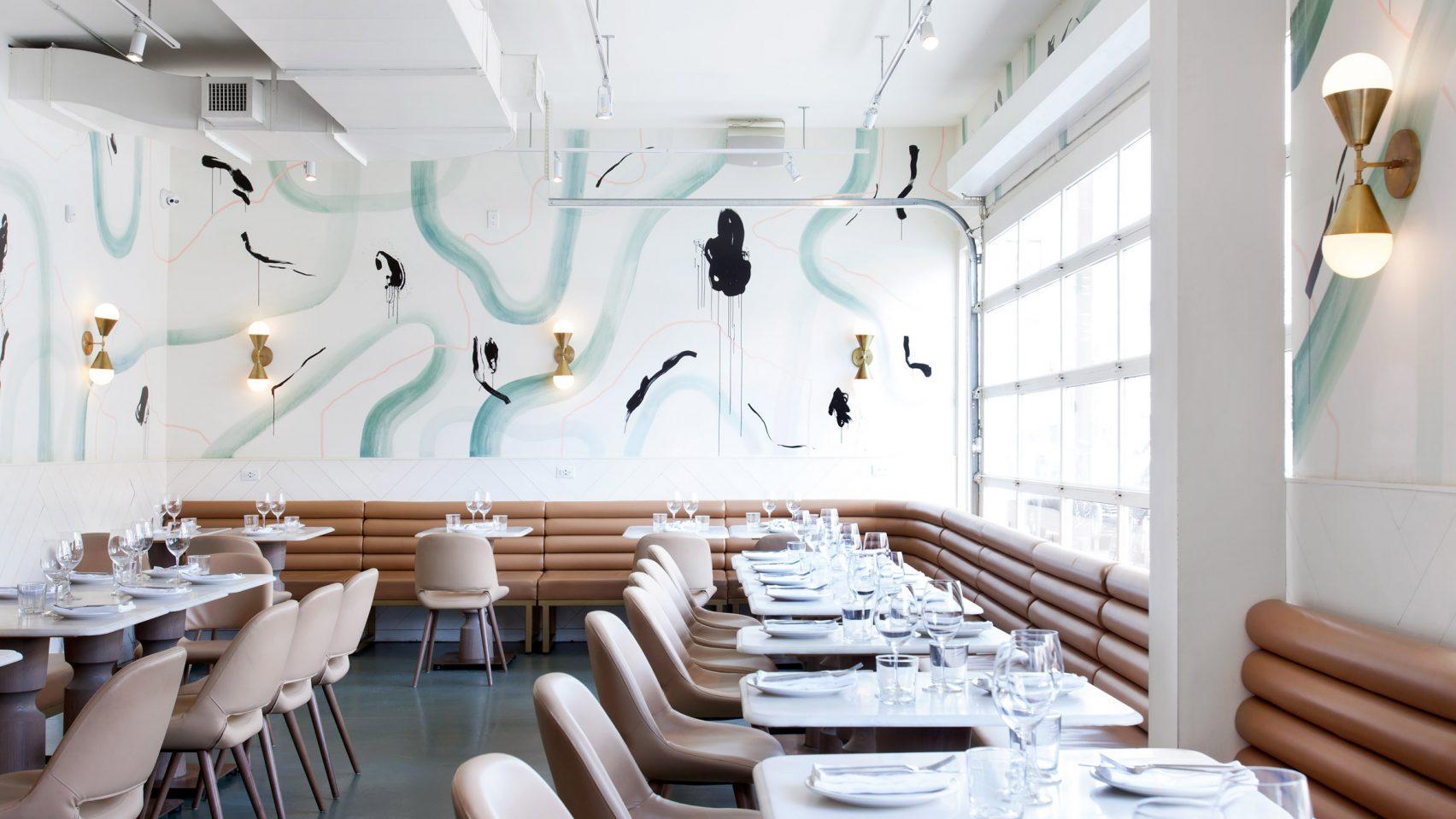 Ресторан La Palma, вдохновлённый Пляжем Венеция