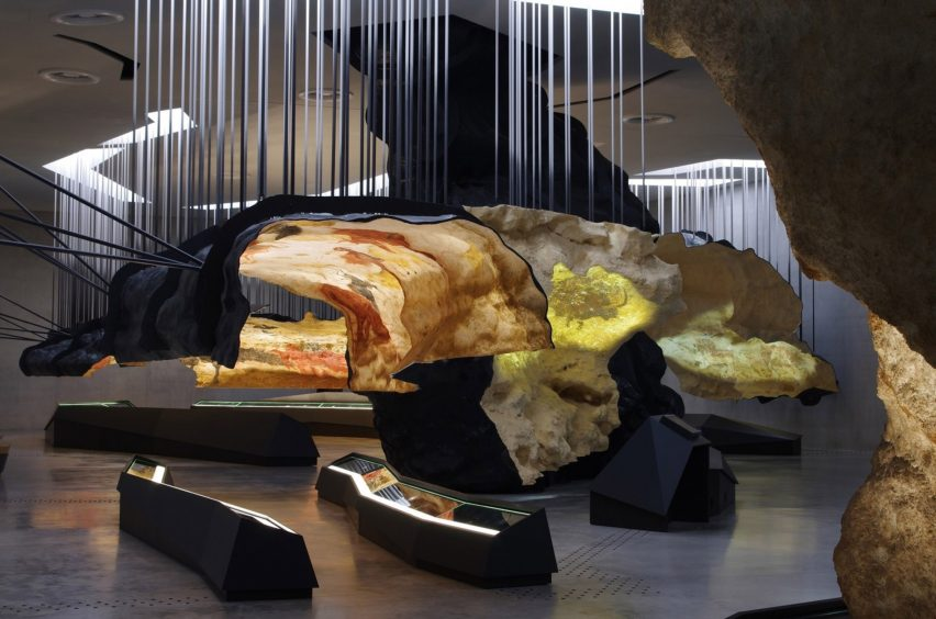 The Lascaux International Centre for Cave Art by Casson Mann