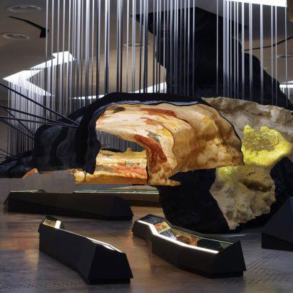 Lascaux International Centre for Cave Art by Casson Mann