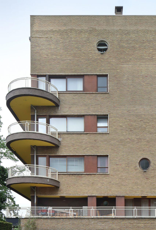 Léon Stynen architecture: Residence Elsdonck, Wilrijk