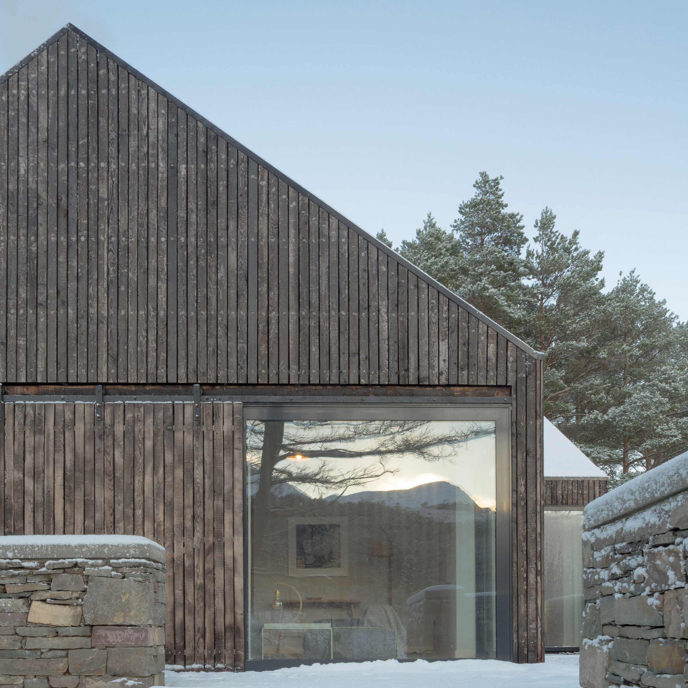 Dezeen's top 10 houses of 2018: Lochside House, UK, by Haysom Ward Millar Architects