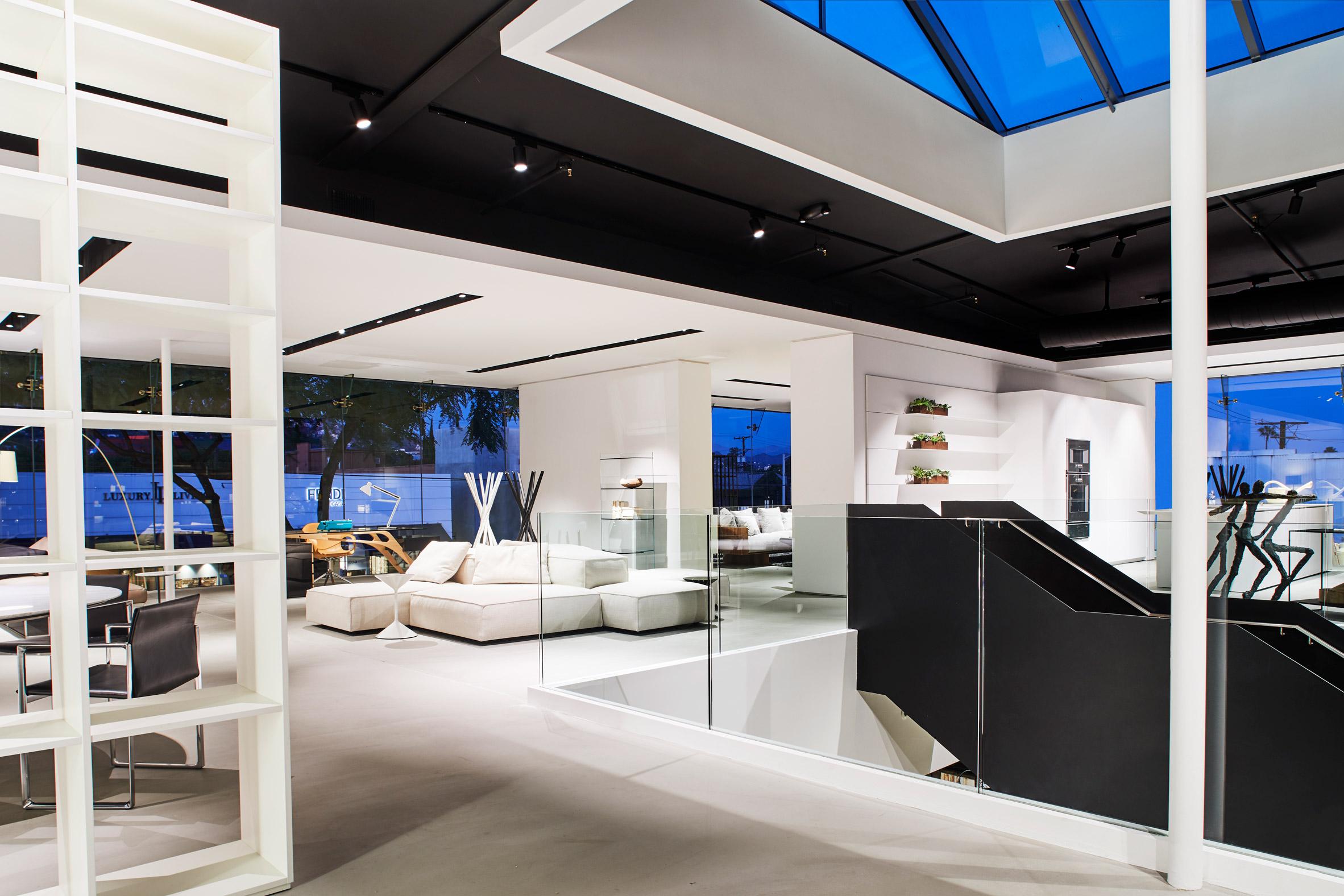 Luminaire Los Angeles Showroom
