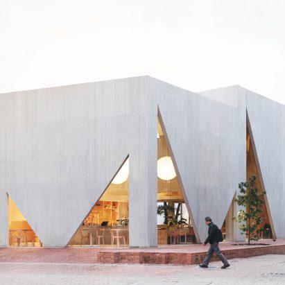 Masa cafe and bakery in Bogotá by Studio Cadena