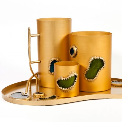 Bellyflop Collection barware by Misha Kahn