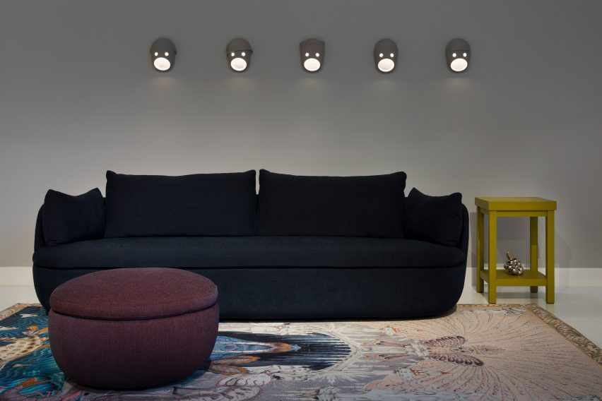 The Party is a collection of wall-mounted lamps by Kranen/Gille for Moooi