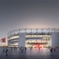 OMA unveils plans for largest football stadium in the Netherlands