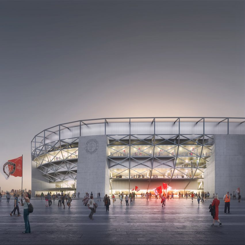 Feyenoord Stadium By Oma To Be Largest Football Stadium In