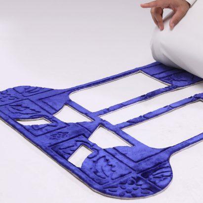 Sustainable prayer mat by Shepherd studio