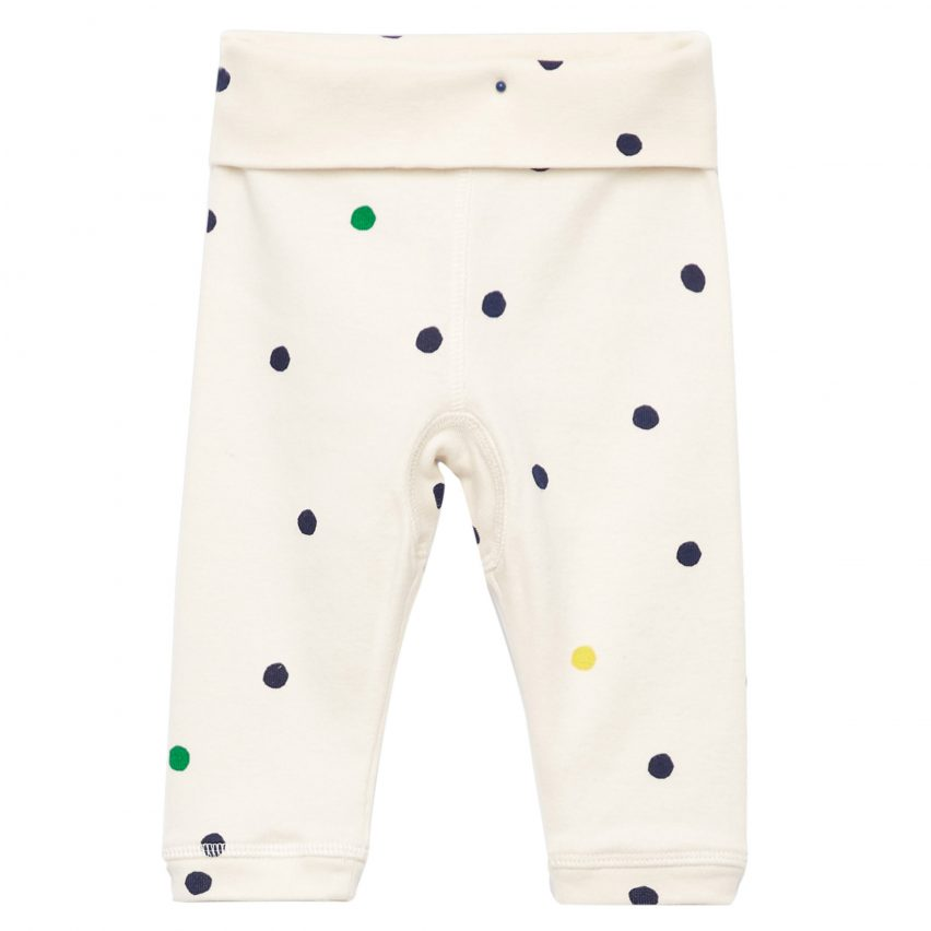Printed Organic Cotton Trousers by Cos