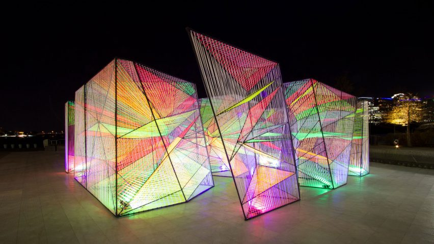 Prismatic installation in Washington DC by Hou de Sousa