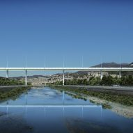 Renzo Piano unveils design for new Genoa bridge following disaster