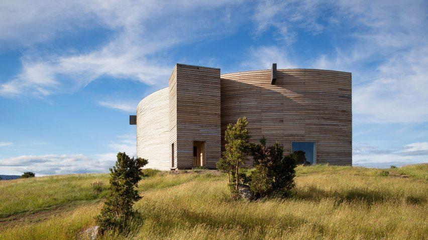 Rode House, Chile, by Pezo Von Ellrichshausen