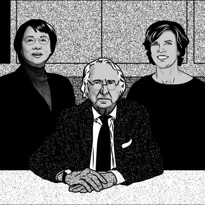 Richard Meier, Jeanne Gang and Itsuko Hasegawa in our review of 2018