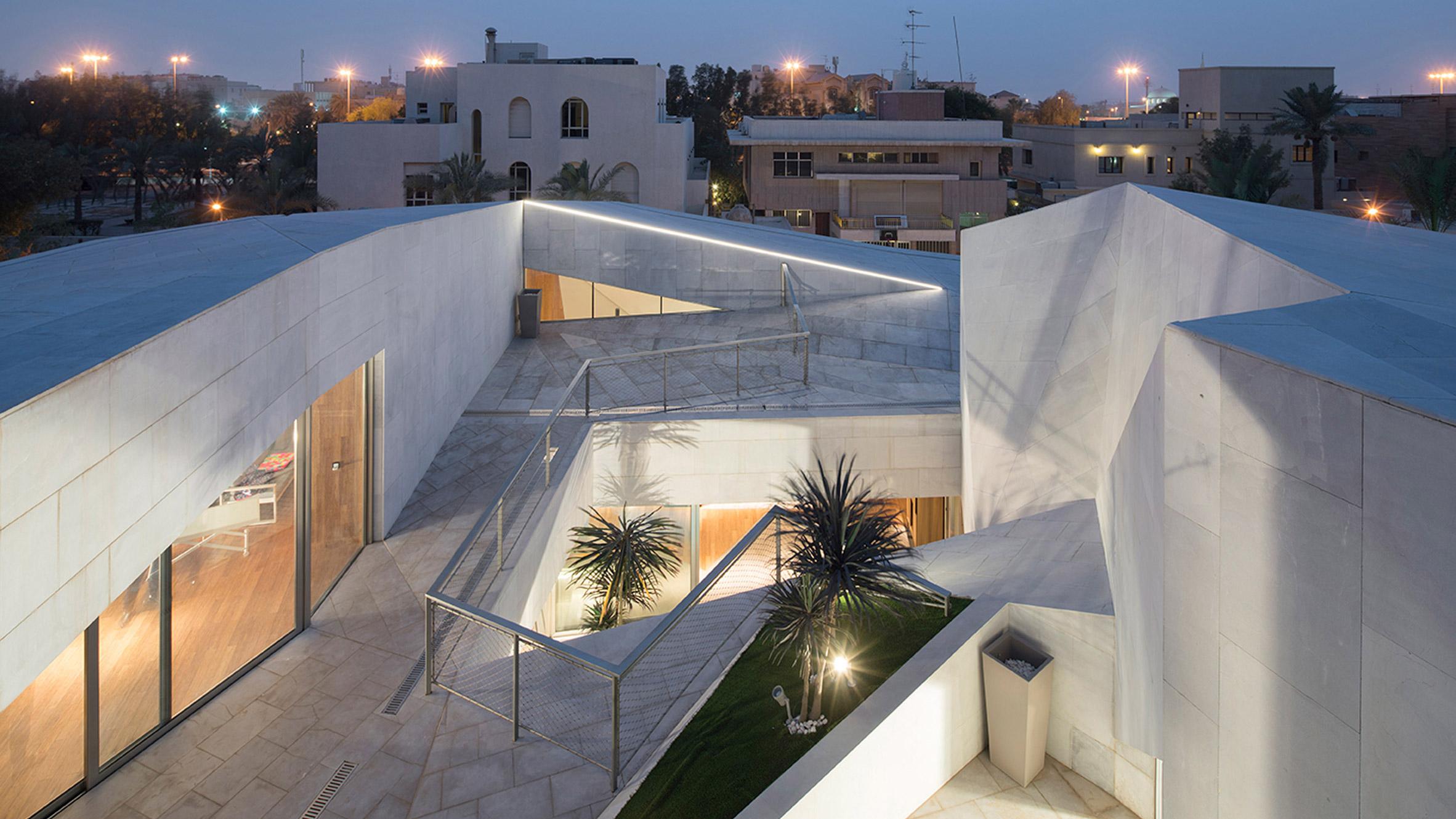 Rock House, Kuwait, by AGi Architects